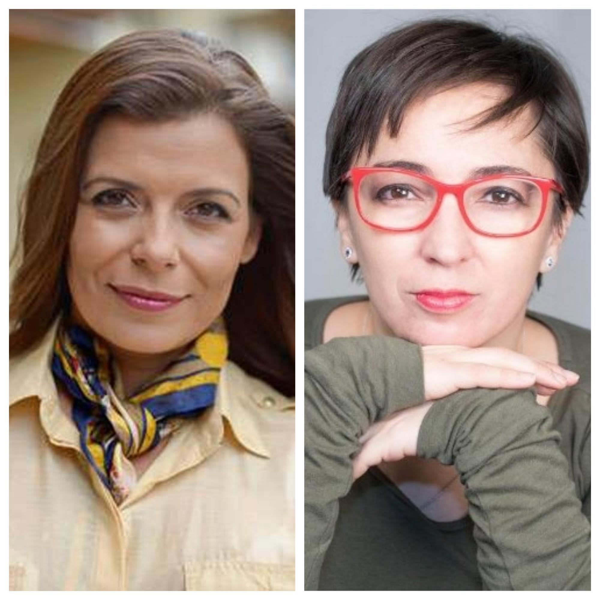 Giannina Segnini y Mónica Cordero